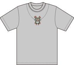 画像1: はま屋オリジナルTシャツ(2)シルバー