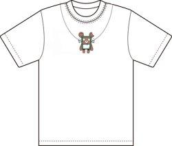 画像1: はま屋オリジナルTシャツ(2)白
