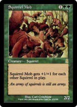 画像1: 【JPN/ODY】リスの群れ/Squirrel Mob