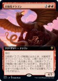 【JPN/ELD/SHOW】日和見ドラゴン/Opportunistic Dragon 『R』 [赤]