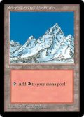 【ENG/ICE】冠雪の山/Snow-Covered Mountain