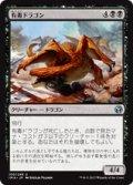 【JPN/IMA/FOIL★】有毒ドラゴン/Noxious Dragon 『U』 [黒]