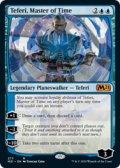 【ENG/M21-BF】時の支配者、テフェリー/Teferi, Master of Time 『青』 《277》
