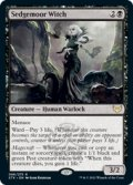 【ENG/STX/Foil★】セッジムーアの魔女/Sedgemoor Witch 『R』 [黒]