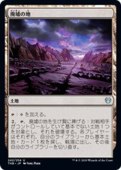画像1: 【JPN/THB/FOIL★】廃墟の地/Field of Ruin 『U』 [土地]
